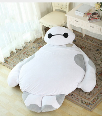 home accessory baymax superheroes superman bedding bean bag