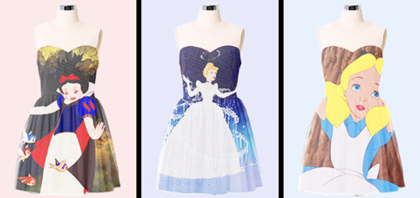 dress, disney, princess, pretty, short, sparkle, magical