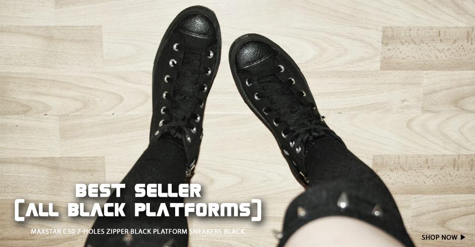 Fashion Platform Sneakers | MaxStarStore.com