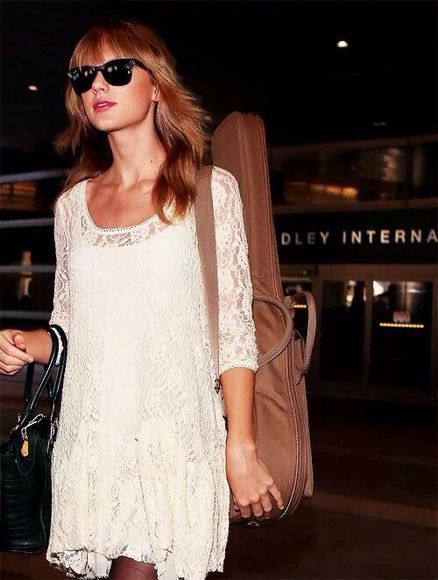 dress taylor swift lace tunic white white dress white tunic lace detailing tunic transparent tunic top lace dress glamour tunic dress summer indie style bohemian hipster