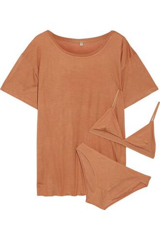 t-shirt shirt beige top