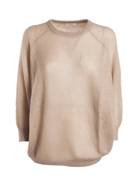 BRUNELLO CUCINELLI top ribbed top