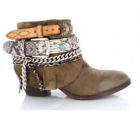 "Elena iachi ""kanna"" cowboy boots"