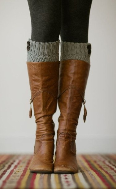 shoes boot sock brown riding boots