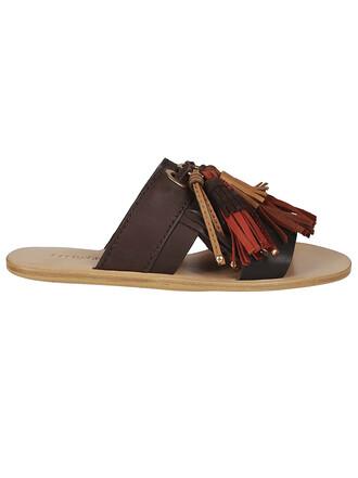 tassel sandals shoes