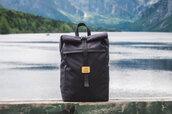 bag,waterproof backpack,nature,backpack,rucksack,sac a dos,rolltop backpack,black backpack,outdoors,travel,travel bag,mens accessories