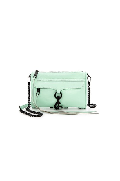 Rebecca minkoff mini mac bag in winter mint