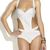 White Bandage Cut Out Swimsuit from Tumblr Fashion on Storenvy