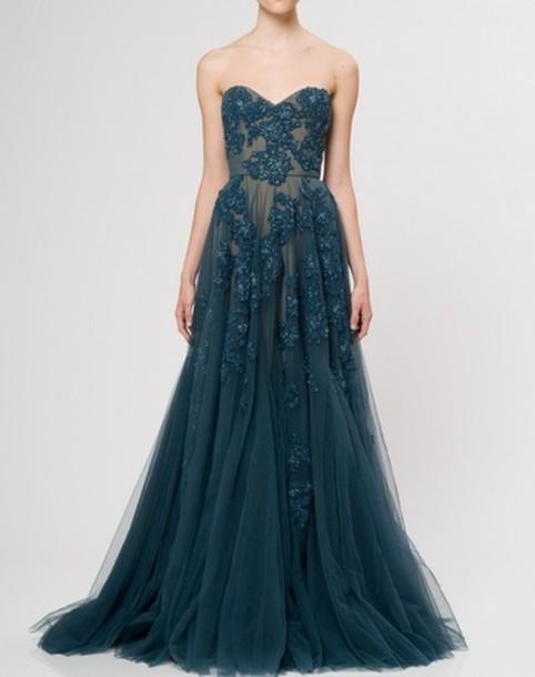 dress dress prom dress prom dress formal gown clothes beautiful designer formal dress blue sheer long floral prom blue dress long prom dress flowers semi-sheer dress maxi