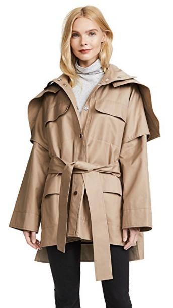 COURRÈGES jacket beige