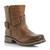 DUNE LADIES NEXTDOOR - Reptile Print Block Heel Dressy Ankle Boot - grey | Dune Shoes Online