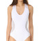 Milly netting martinique swimsuit - white
