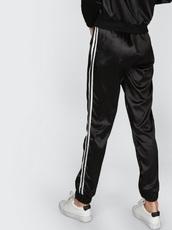 pants,adidas,black,satin