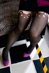 Socks by Sock Dreams »  Cat Tights