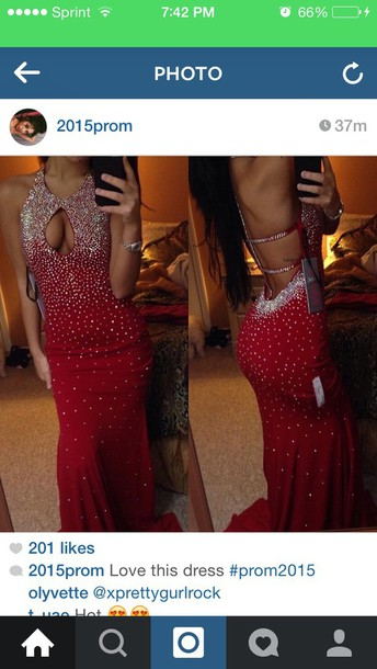 dress red sparkly dress prom dress red prom dress