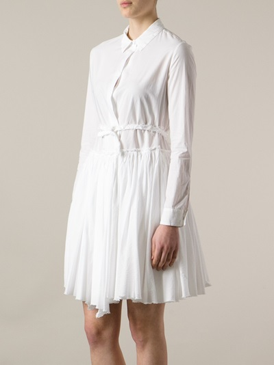 Hache Pleated Dress - Etre - Vestire - Farfetch.com