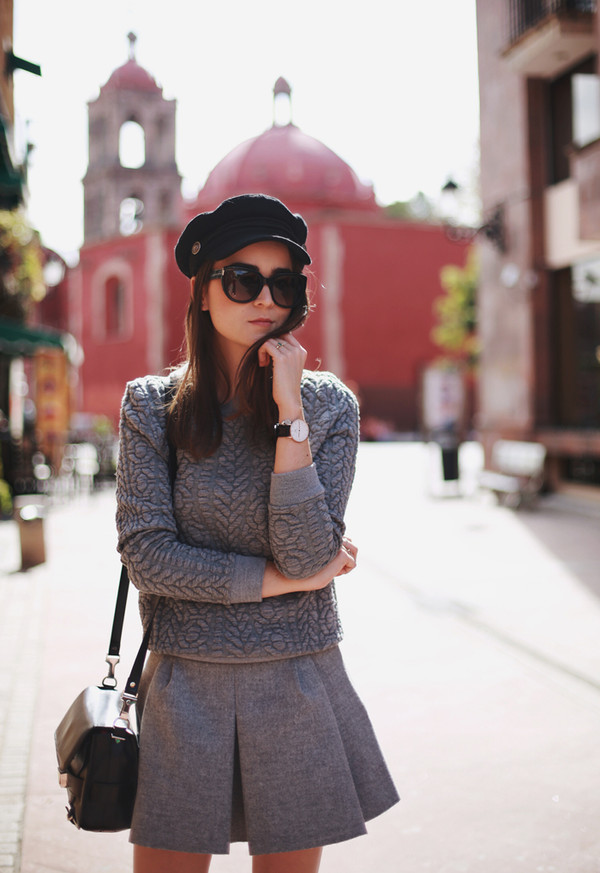 style scrapbook t-shirt skirt bag shoes hat