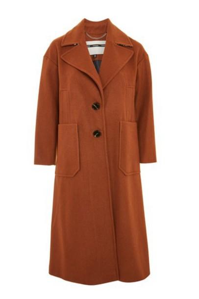 Topshop coat fit