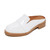 Jeffrey Campbell Keyer Loafer Mules - White Box