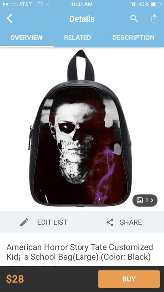 bag cute bag american horror story season 4 cute beanies tate langdon