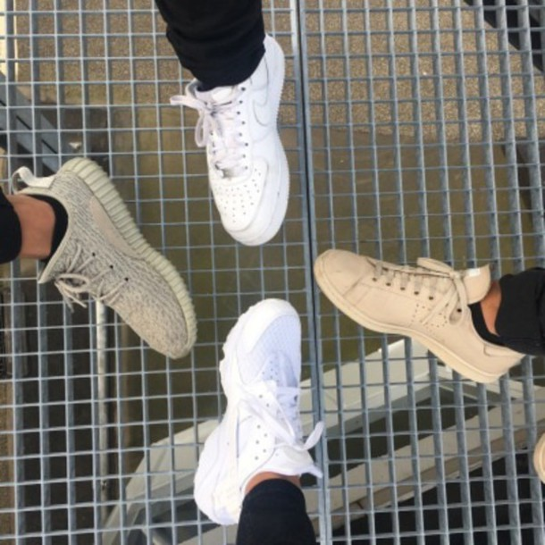 shoes adidas nike yezzy nike air force huarache yeezy 350 boost adidas superstars adidas originals white cool style
