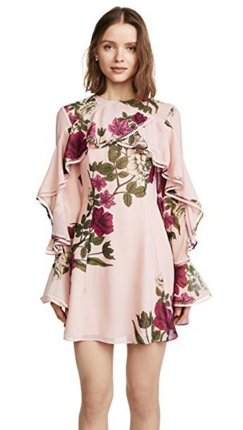 Keepsake dress floral blush