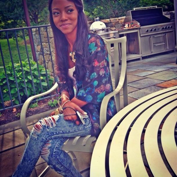 f514ce982e52 jacket t-shirt boho black and white jewels swag girly girl cute high heels  vintage