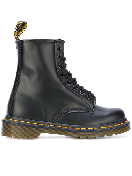Dr. Martens women leather black shoes