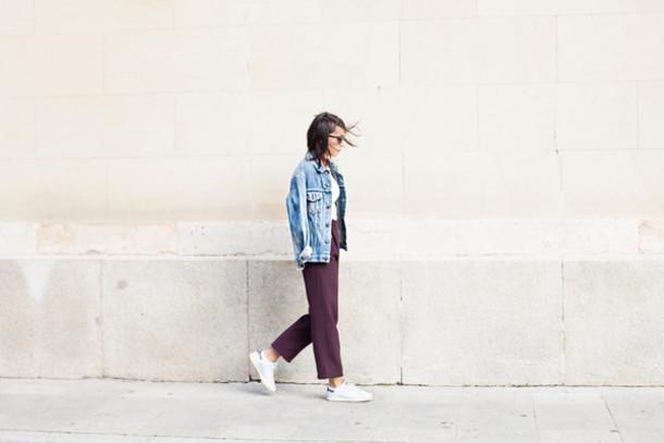 lucitisima blogger pants shirt jacket sunglasses