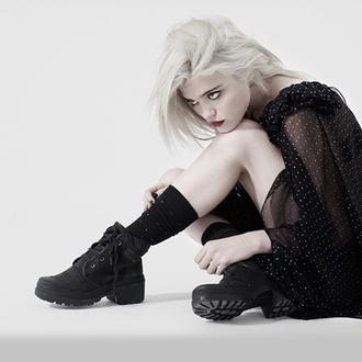 black sky ferreira shoes grunge
