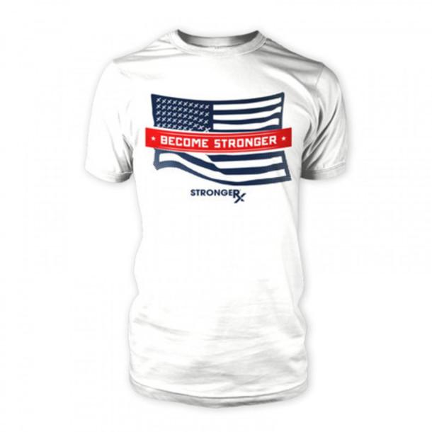 94b9f24d t-shirt, flag t-shirt, fitness t-shirts, workout shirts, crossfit ...