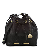 Lexie Leather Drawstring Shoulder Bag | Lord and Taylor
