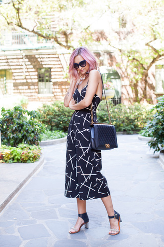 late afternoon blogger jumpsuit shoes bag jewels