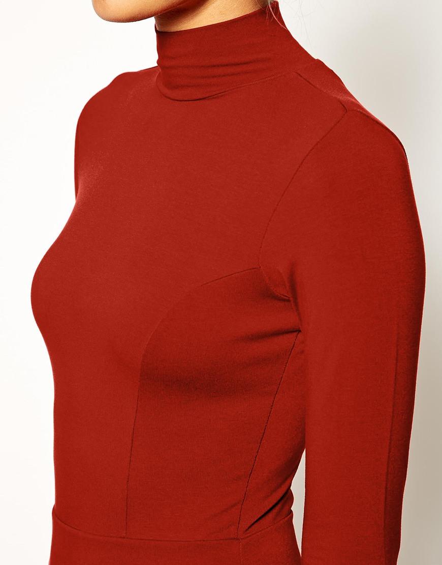 Asos polo asymmetric dress at asos.com