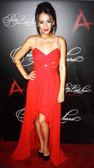 red dress jannel parrish