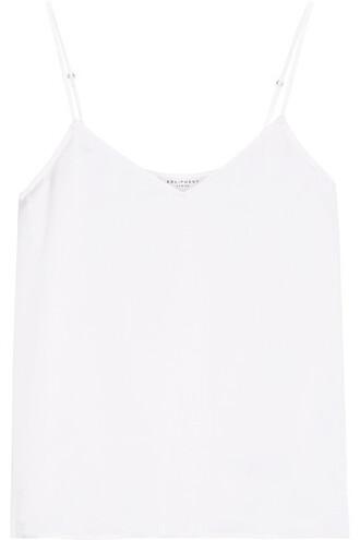 camisole white silk underwear