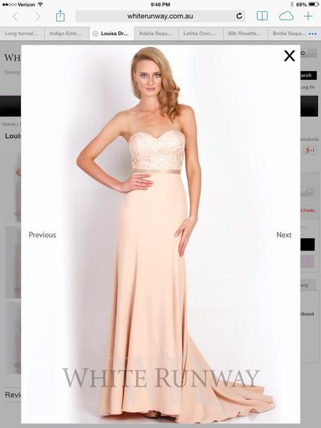 dress nude dress bridesmaid bridesmaid formal dress
