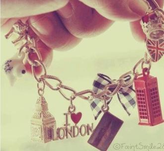jewels london uk charm bracelet bow