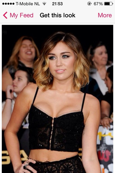 miley cyrus shirt black t-shirt croptops