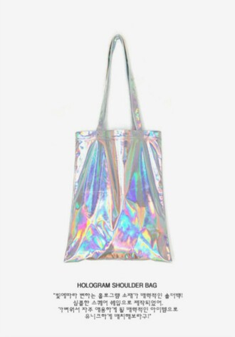bag hologram holographic hologram bag tote bag hologram tote tote