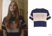 shirt,t-shirt,stripes,lydia martin,holland roden,cute,trendy,love,style