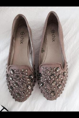 shoes loafers studded shoes