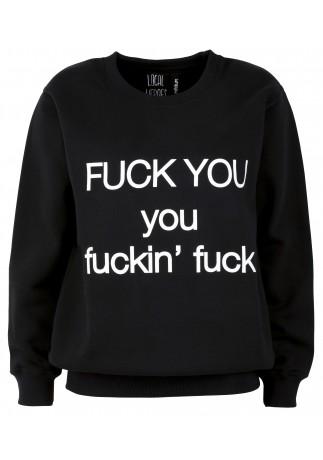 FUCK U sweatshirt