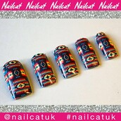 nail accessories,nail decals,nail polish,nail art,nail stickers,nail wraps,nail print,aztec,aztec nails,navajo