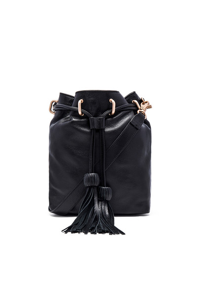 Foley + Corinna drawstring bag bucket bag black