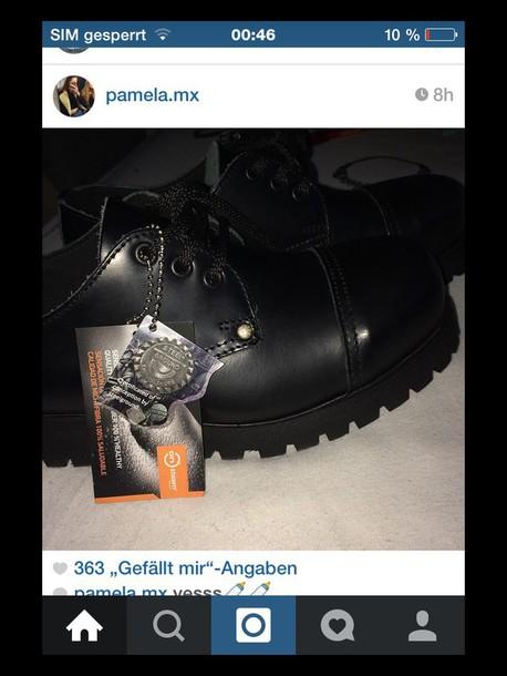 shoes combat boots black boots