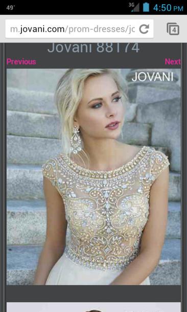 dress jovani prom dress