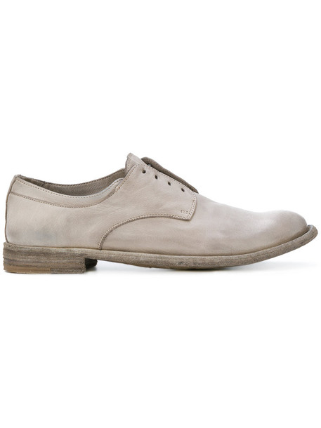 OFFICINE CREATIVE women shoes leather grey