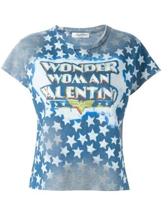 t-shirt shirt studded blue top
