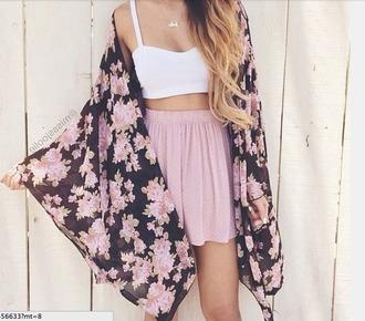 sweater pink skirt